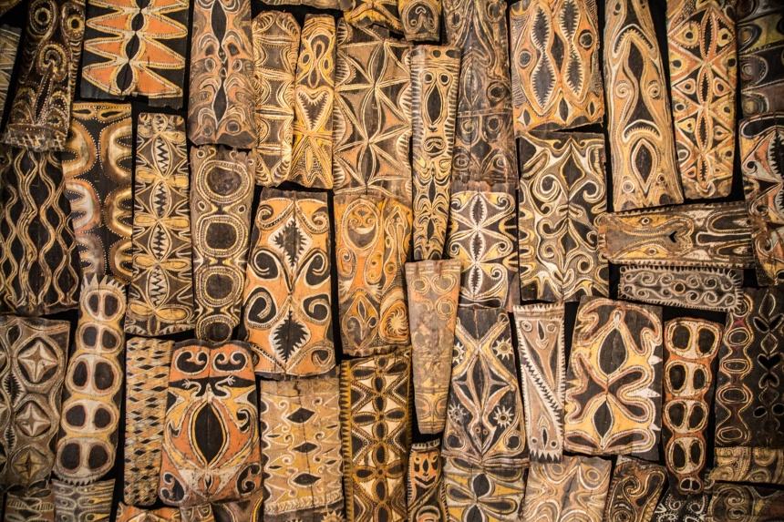 African artis shileds