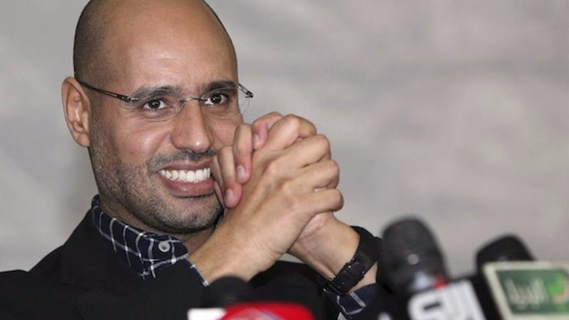 Colonel Gaddafi's son liberated by militants