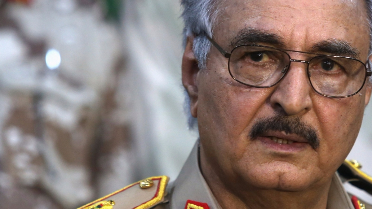 Haftar ascending power in Libya