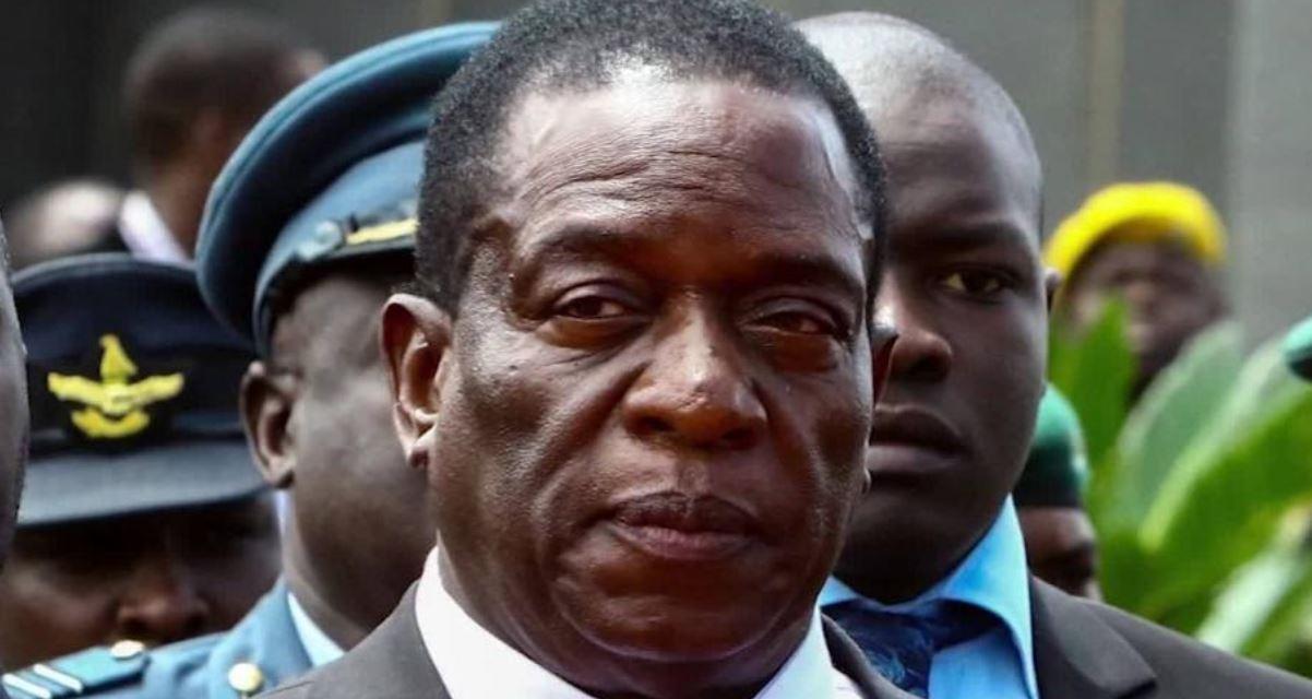 Mnangagwa arrives to Harare