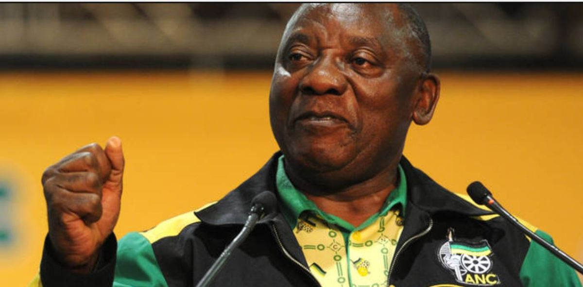 "Ramaphosa declares ""era of unity"""