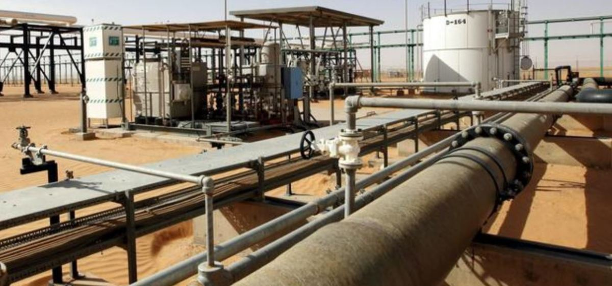 Libya's Sharara oil field interrupted extraction