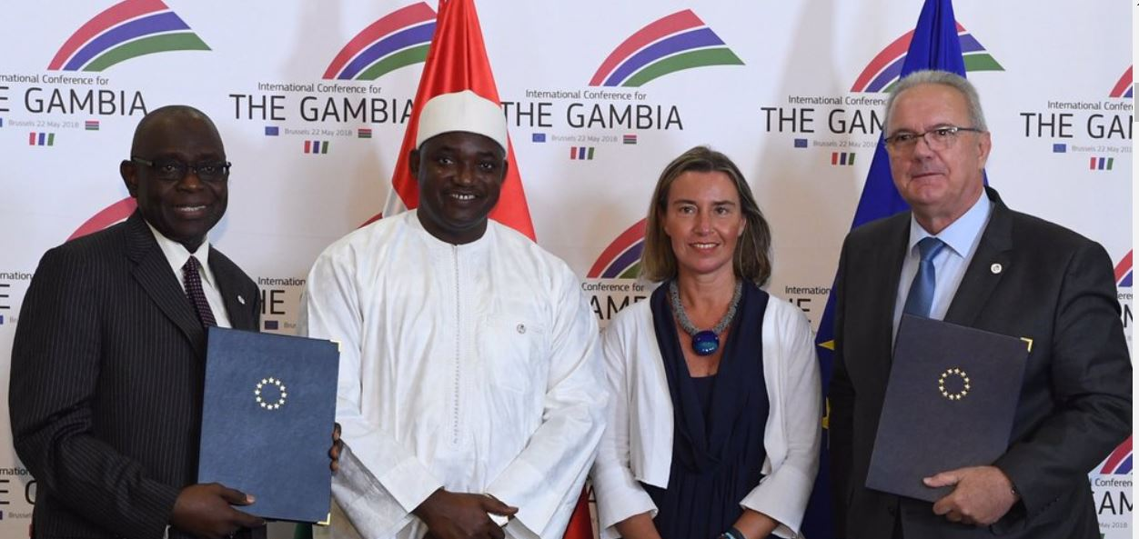 EU pledges €1.45 billion for The Gambia to assist democratic transition