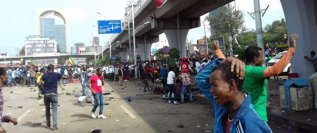 Explosion hits PM Abiy Ahmed rally in Addis Ababa