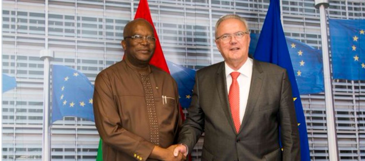 Burkina Faso receives  €50 million in EU aid