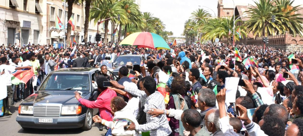 Ethiopia and Eritrea engaged in peace talks