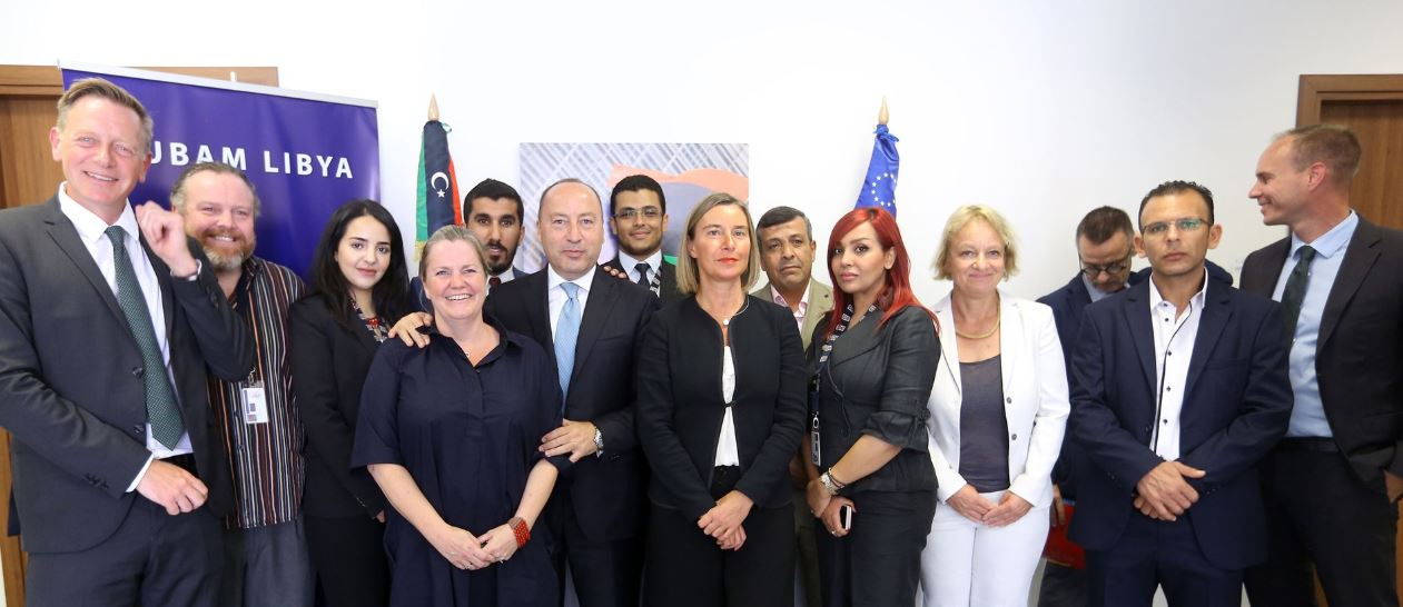 Mogherini inaugurates EU premises in Tripoli