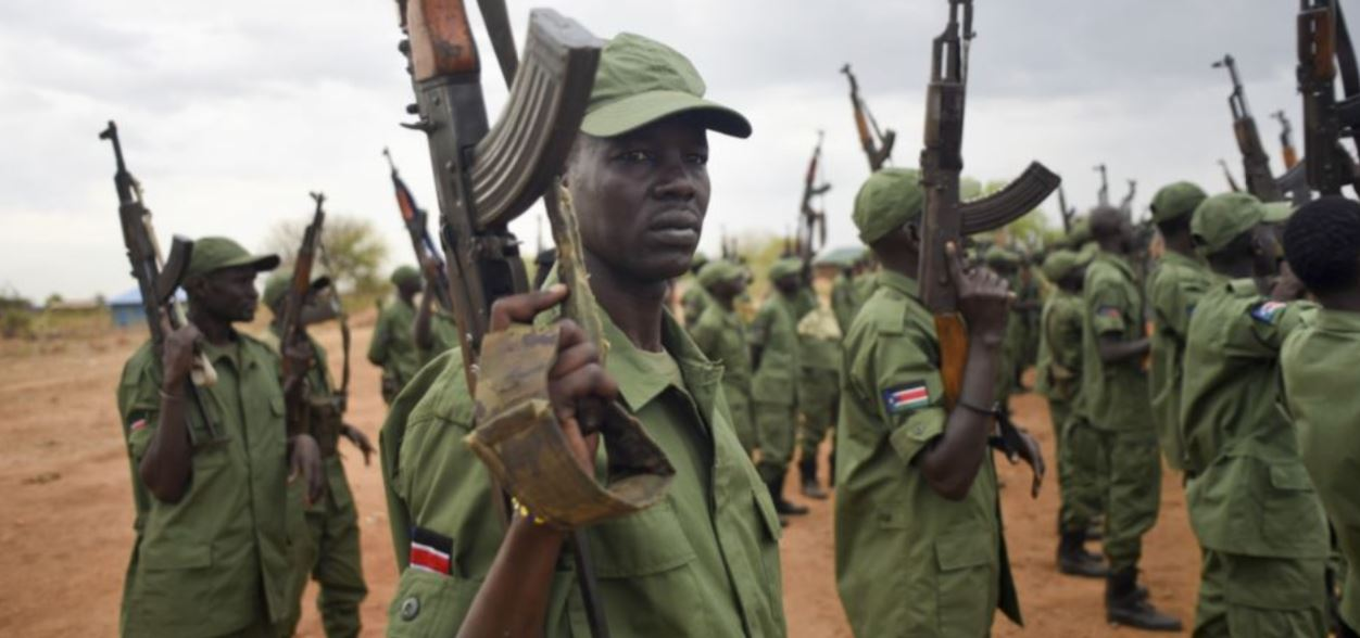 Arms embargo on South Soudan