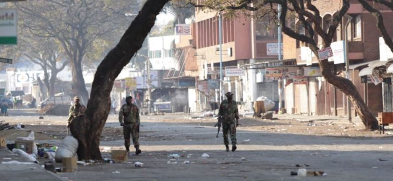 Clashes in Harare amid rising tensions