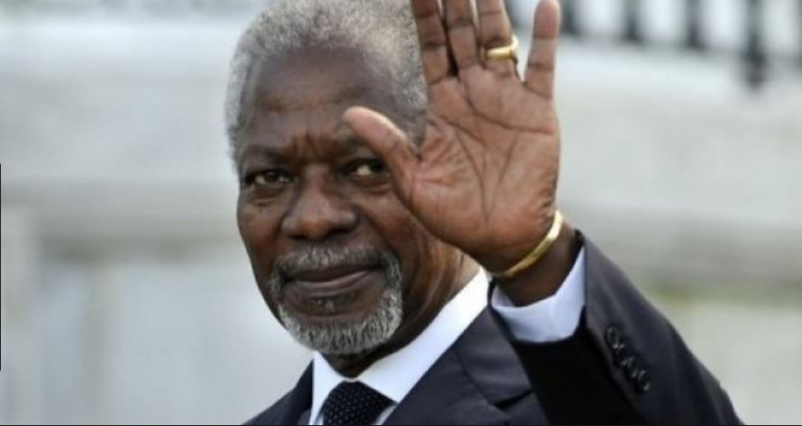 Outstanding diplomat Kofi Annan passed away