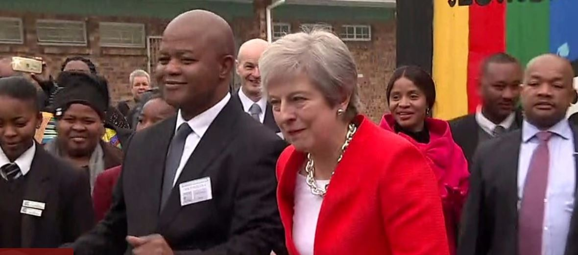 May vows to invest in Africa
