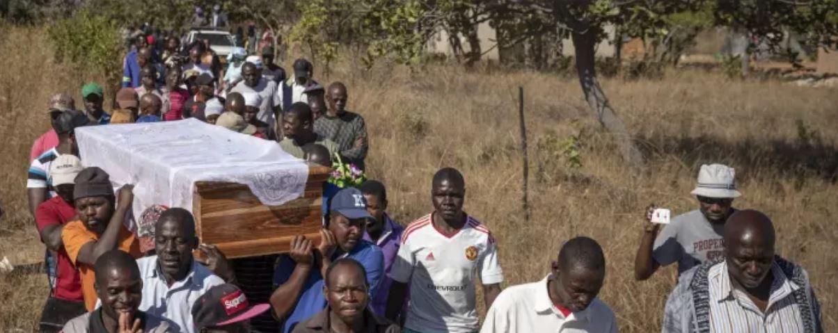 Zimbabwe burred victims of post-election violence