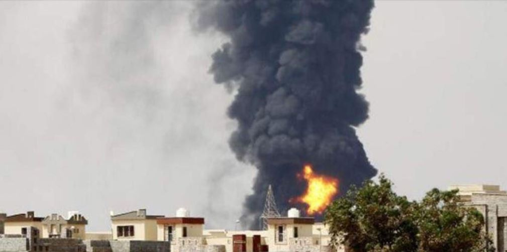 Tripoli in whirlwind of violence