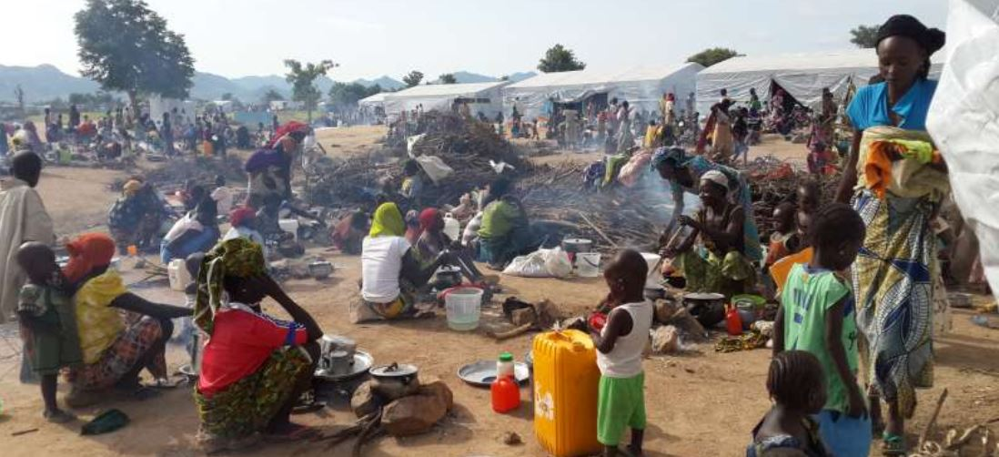 Cameroon refugees continue to arrive to Nigeria
