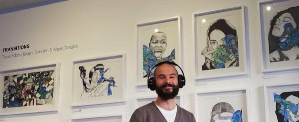 Cape Town: Jürgen Dünhofen in Transitions art project