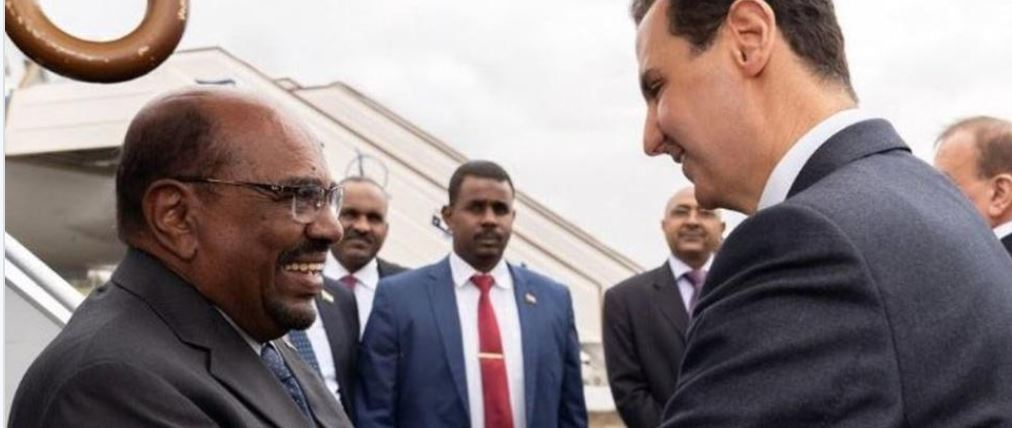 Sudan leader visits Damascus