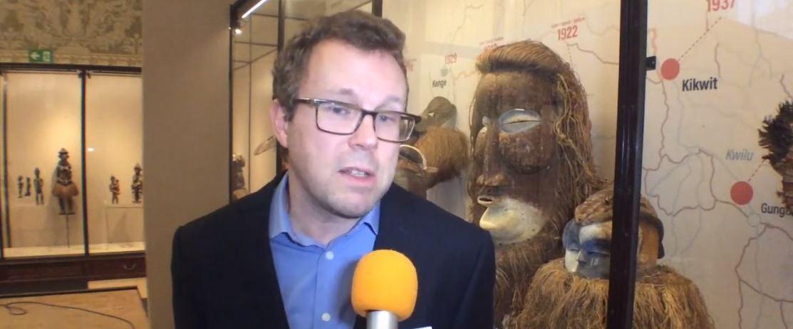 Mukanda masks of Belgium African Museum