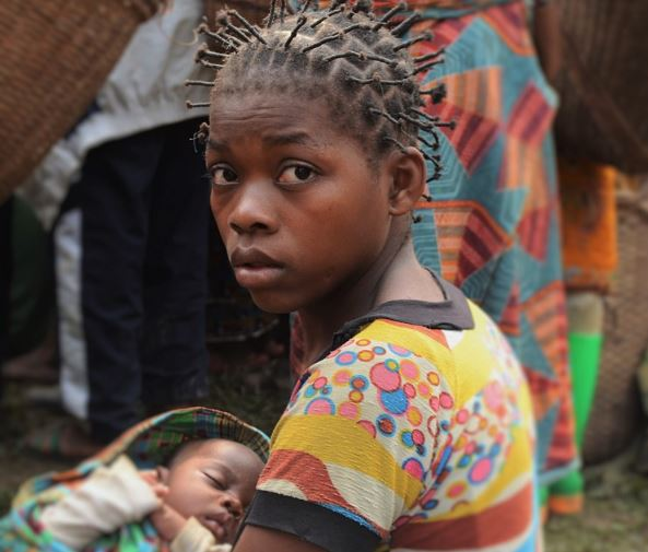 congo mother child
