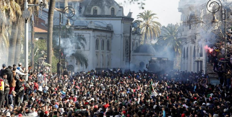 Algerians protest against 5th Bouteflika mandate