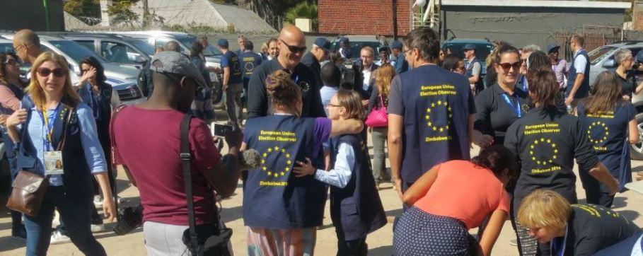 EU admits Buhari election 'consistency'