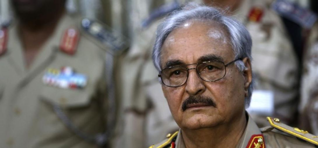 Trump and Haftar discussed need for peace