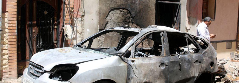 Red Cross leaves Tripoli