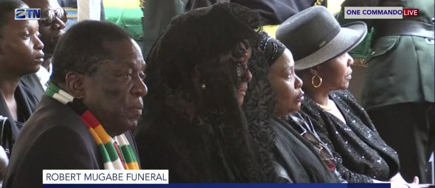 Mugabe funeral in native village