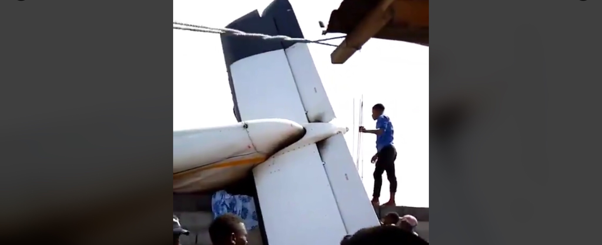 DR: Plane crash in Goma