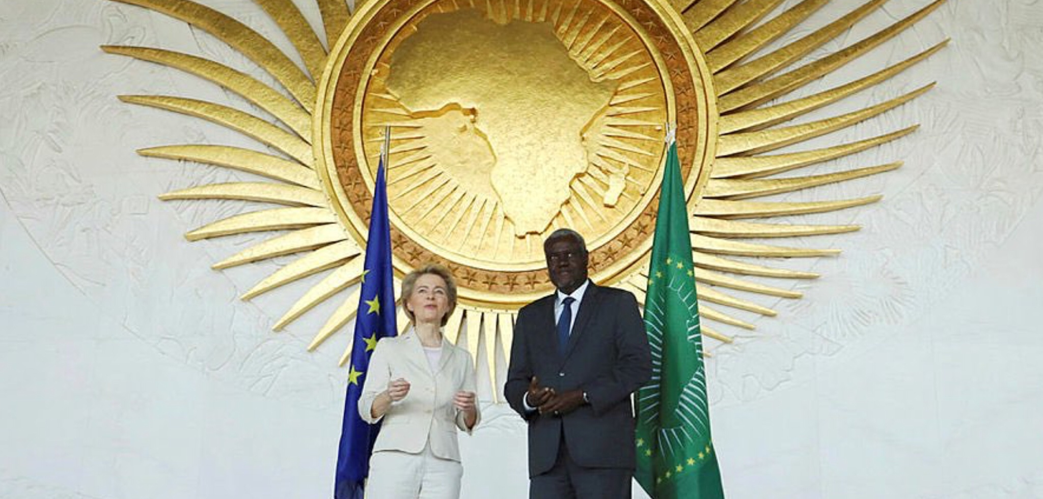 First Leyen official visit attributed to Africa