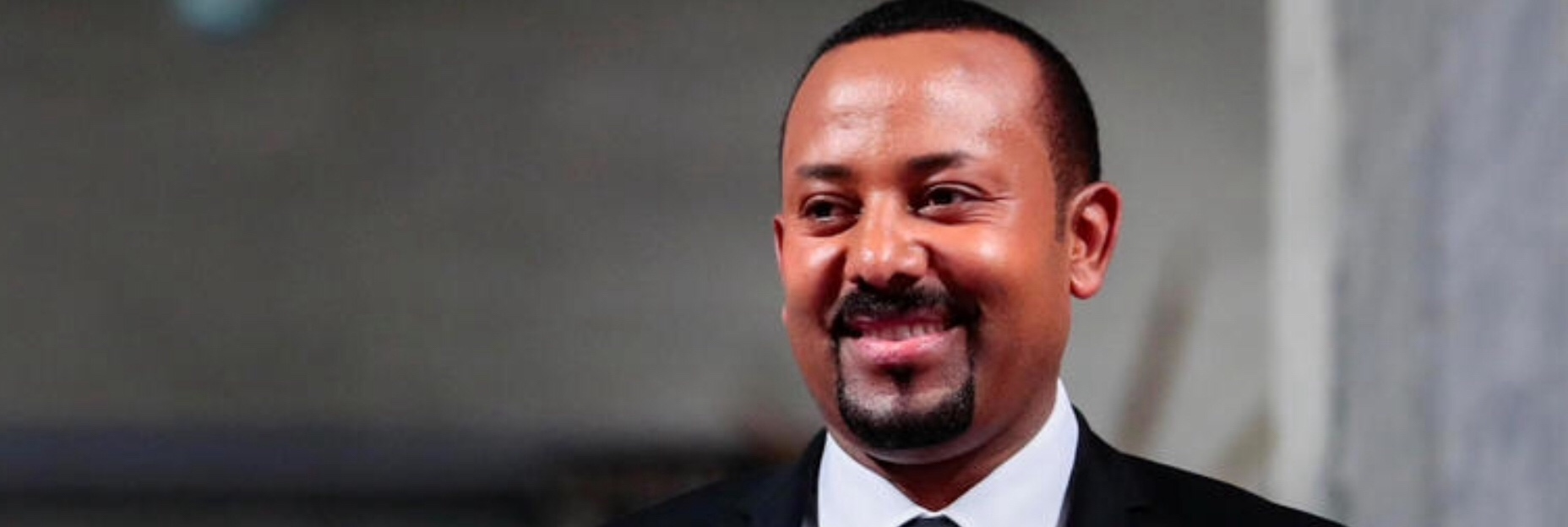 Abiy Ahmed receives Nobel Peace Prize