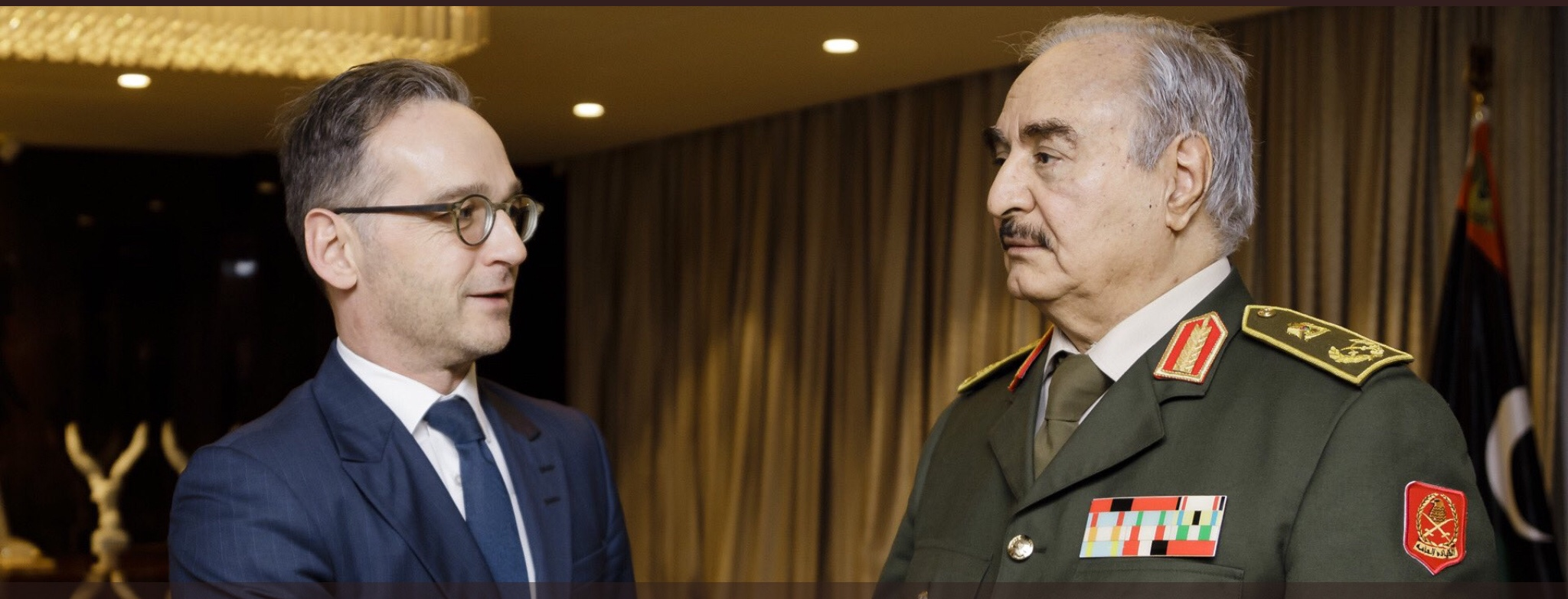 Haftar makes friends in EU