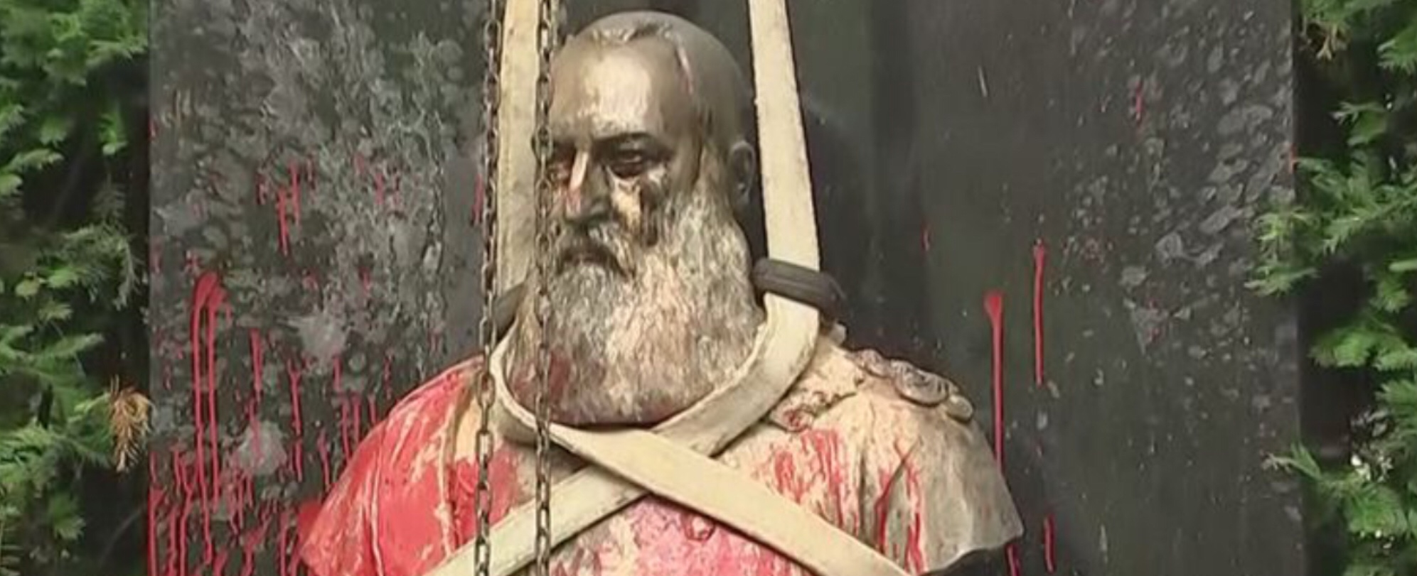Ghent removes Leopold II bust