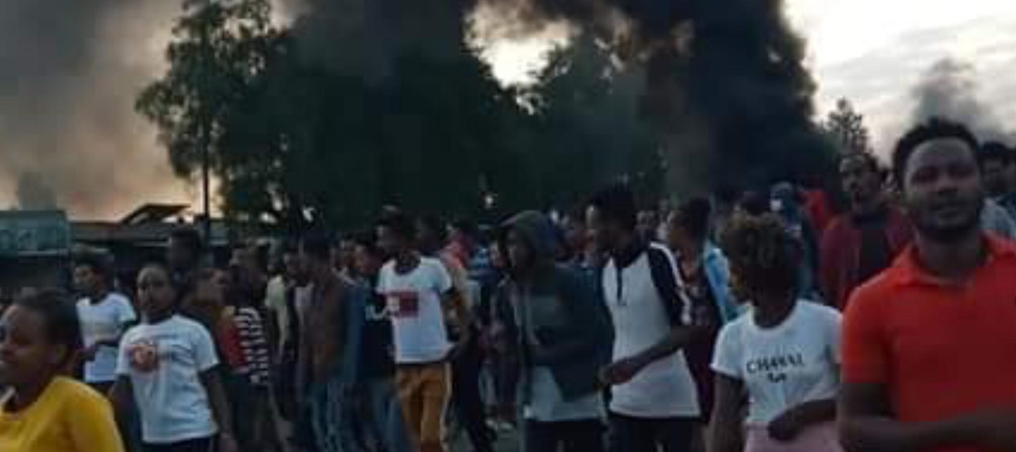 Ethiopia: urban violence continues