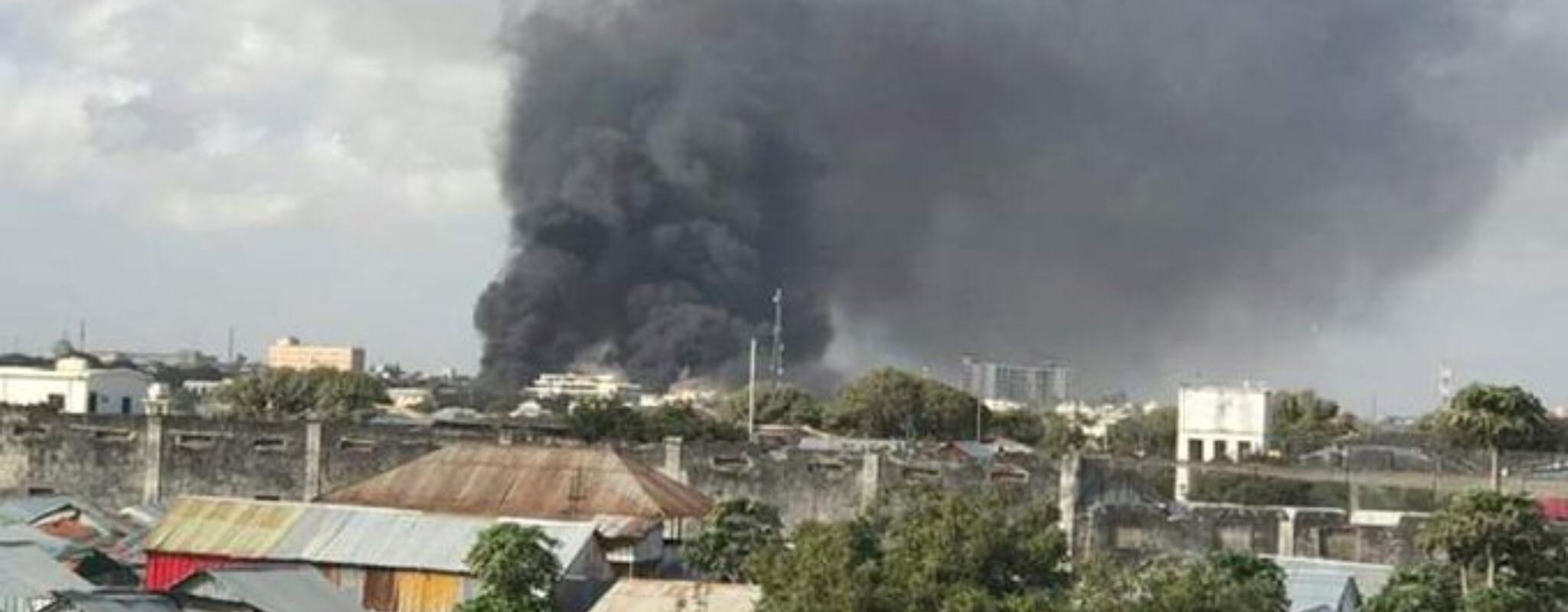 Al Shabaab attack in Mogadishu