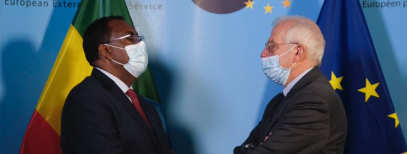 Ethiopia Foreign minister visits Brussels