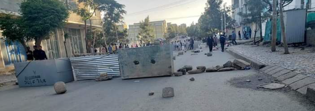 Tigray protests in Mekelle