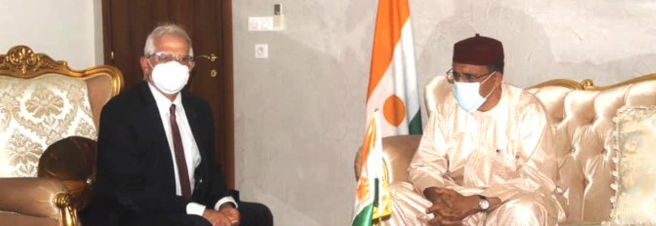 Borrell meets Niger President