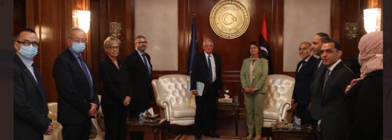 Borrell visits Libya